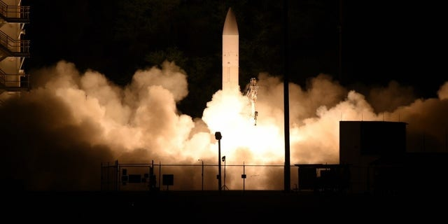 The hypersonic glide body test was conducted from the Pacific Missile Range Facility, Kauai, Hawaii, March 19.
