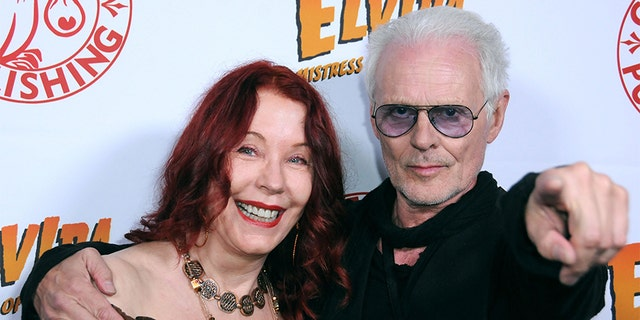 Pamela Des Barres and Michael Des Barres tied the knot in 1977.The two amicablydivorced in 1991 and share a son. They are pictured here in 2016.