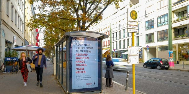 Such text-only ads will continue to run throughout the city, Visit Berlin said.