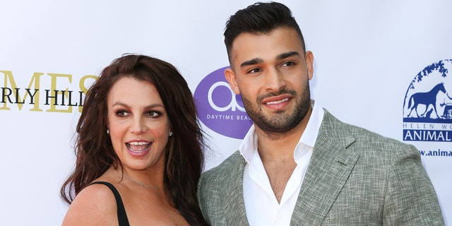 Britney Spears and Sam Asghari have been a couple since 2017. (Paul Archuleta/FilmMagic )