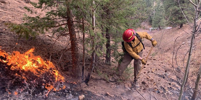 The CalWood Fire has grown to 9,106 acres in the mountains above Boulder, Colo.