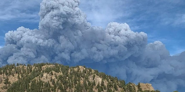 The Cameron Peak Fire started in mid-August has has grown to the largest in state history.