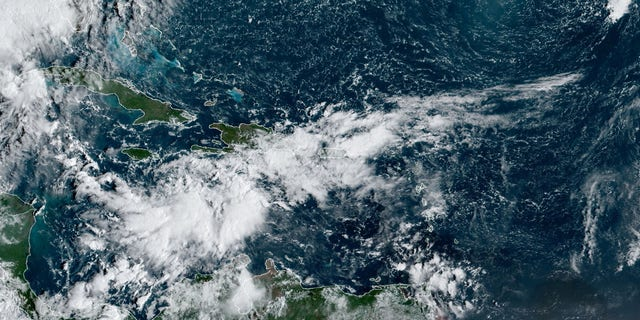 An area of disturbed weahter in the Caribbean in being monitored for development over the next couple of days, according to forecasters.