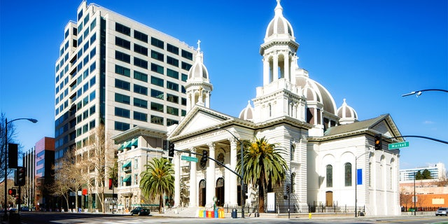 This 200 year old catholic church is one of the landmarks of Silicon Valley.