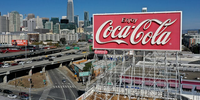 The Coca-Cola billboard, which was erected in 1937, is slated to be taken down by the company at a cost of around $  100,000.
