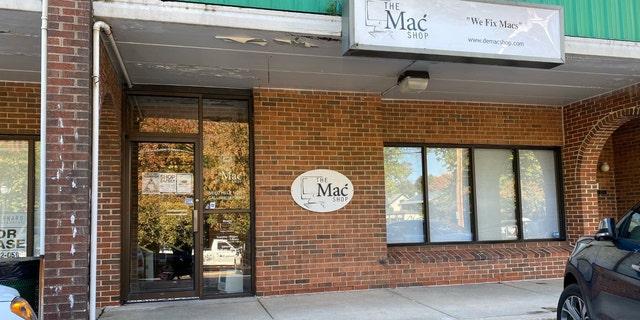 The Mac Shop, John Paul Mac Isaac's computer repair store in Delaware.
