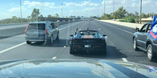 NFL Star Flips Off Pro-Trump Caravan While on Freeway