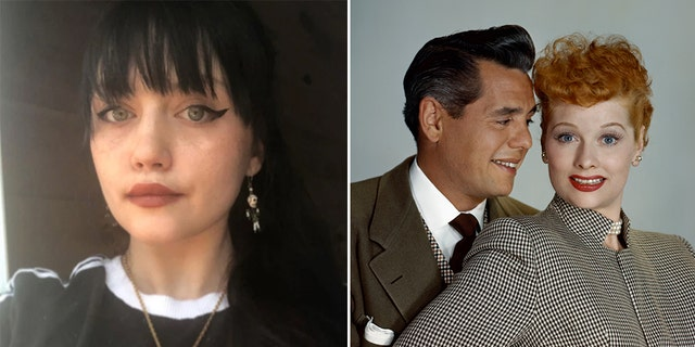 Desiree Anzalone, left, is the great-granddaughter of Lucille Ball and Desi Arnaz Sr.