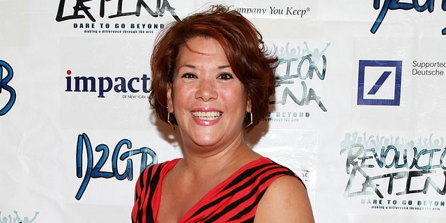 Doreen Montalvo interpretó a la madre de Gloria Estefan en el musical de Broadway 'On Your Feet!'  (Foto de Robin Marchant / Getty Images)