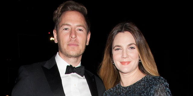 Actress Drew Barrymore (right) and ex-husband Will Kopelman (left) in 2015. (Photo by SBN/Star Max/GC Images)