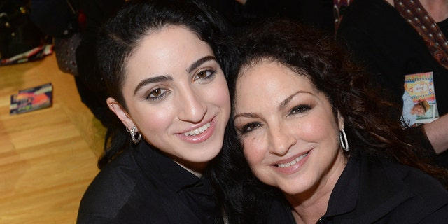Emily Estefan and Gloria Estefan pose after the Emily Estefan Concert at the University of Miami Frost School of Music on February 2, 2017 in Miami, Florida. (Photo by Rodrigo Varela/WireImage)