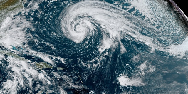 Hurricane Epsilon rapidly intensified over the last 24 hours. The storm is now a Category 2 hurricane with maximum sustained winds of 110 mph.