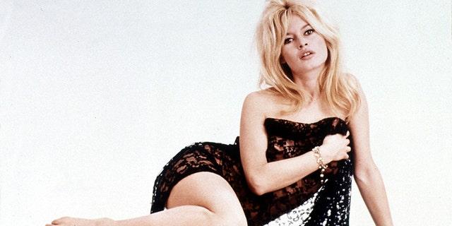 '60s French star Brigitte Bardot.