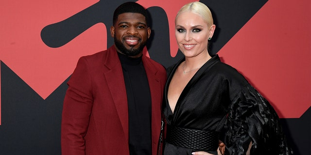 Lindsey Vonn recently said her and fiance PK Subban's' wedding plans are 'on hold' due to the coronavirus pandemic.