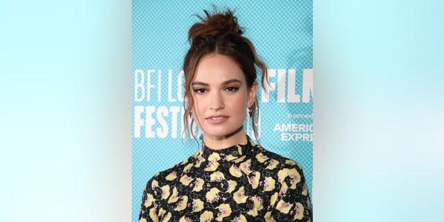 Lily James was photographed getting cozy with married actor Dominic West in Rome.