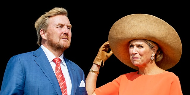 King Willem-Alexander and Queen Maxima of the Netherlands. The 53-year-old Dutch monarch and his wife were forced to return from their holiday villa in Greece after being out of the country for one day.