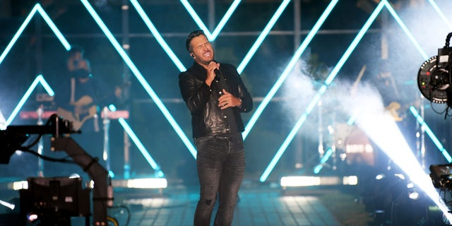 Luke Bryan, pictured here performing at the 2020 CMT Music Awards, won male video of the year for 'One Margarita.' (Photo by Jason Kempin/CMT2020/Getty Images for CMT)