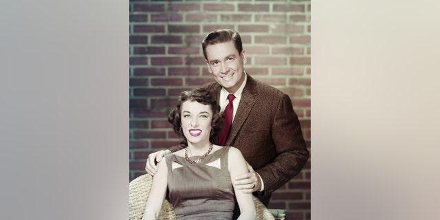 Bob Barker with his Dorothy Jo [Gideon] Barker.