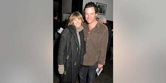 Actor Dominic West and his wife Catherine FitzGerald.
