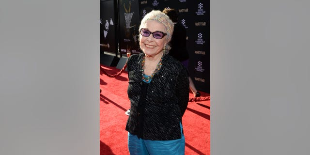 Marge Champion, pictured here in 2013, had a motto to always 'keep dancing,' her son Gregg told Fox News.  (Photo by Michael Buckner/WireImage)