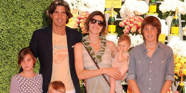 Nacho Figueras and Delfina Blaquier share four children.