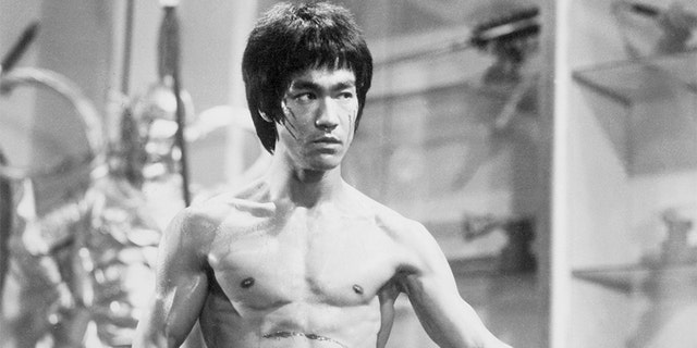 Bruce Lee in 'Enter the Dragon.'