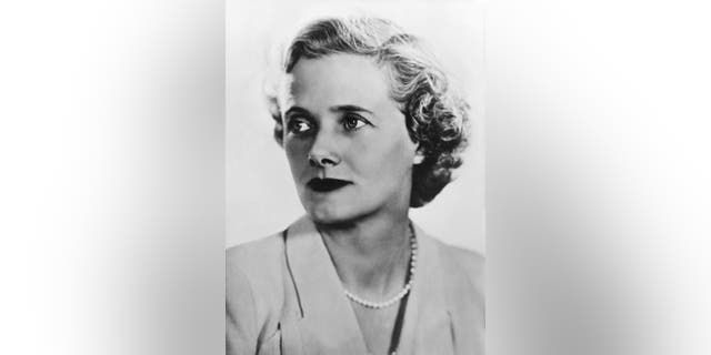 Daphne du Maurier pictured here. Author Ingrid Seward claimed that shortly before his royal wedding to future Queen Elizabeth II, Philip, now 99, went to stay with 'the beautiful novelist Daphne du Maurier' in Cornwall.