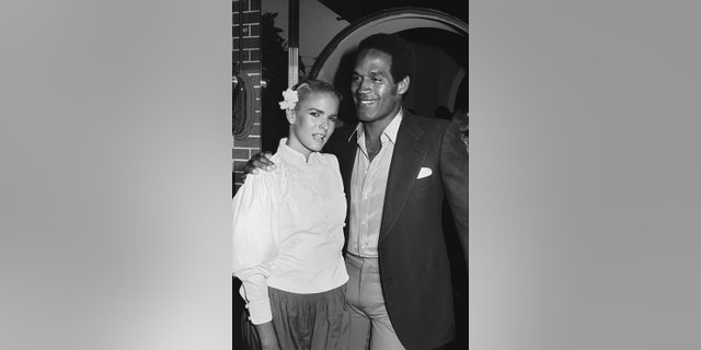Nicole Brown and OJ Simpson. (Getty Images)
