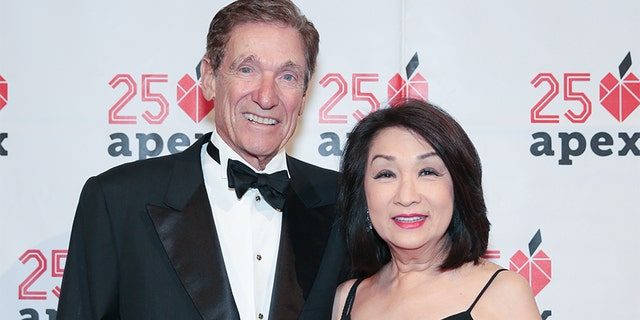 Maury Povich and Connie Chung dated non-exclusively for seven years before tying the knot.