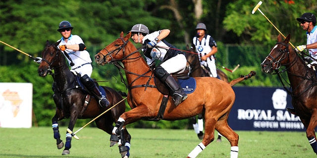 Nacho Figueras is a world-renowned polo champion.