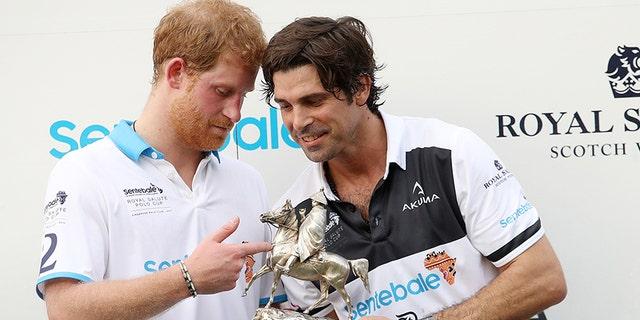 Nacho Figueras shares a close bond with Prince Harry.