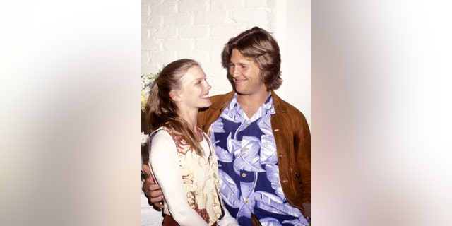 Susan Bridges and Jeff Bridges during the early years of their marriage.