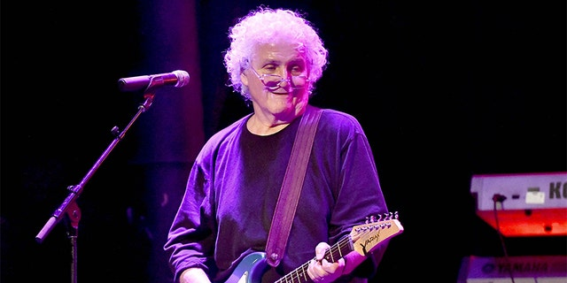 Singer David Freiberg, the founding member of Jefferson Starship and Quicksilver Messenger Service, performs onstage at The Canyon Club on April 6, 2018, in Agoura Hills, California.