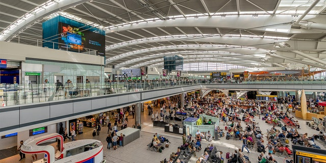 Travelers to London's Heathrow airport have dropped more than 84%, its third-quarter earnings revealed. (iStock)
