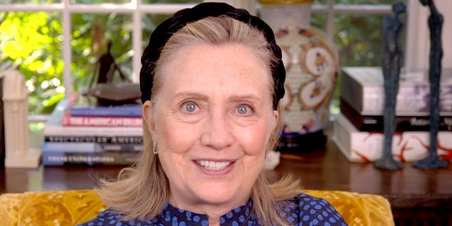 Former U.S. Secretary of State Hillary Clinton is seen Sept. 26, 2020. (Getty Images)