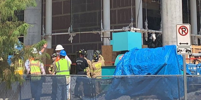 At least 3 dead in Houston work site building collapse