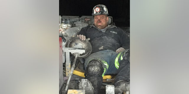 Todd Reesman, 49, an electrician for Rosebud at the nearby Crooked Creek mine