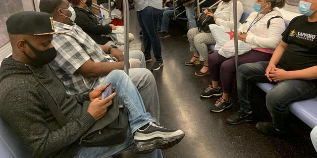 The MTA has ordered passengers to wear masks while riding.