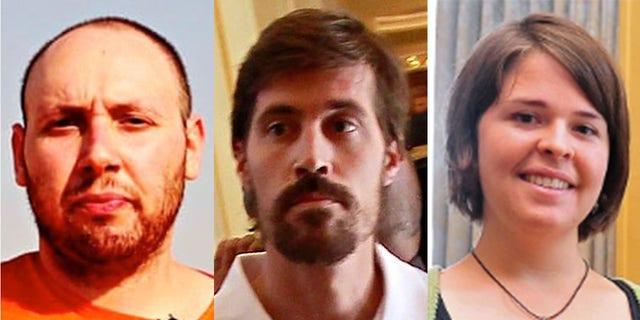 Steven Sotloff, James Foley, and Kayla Mueller