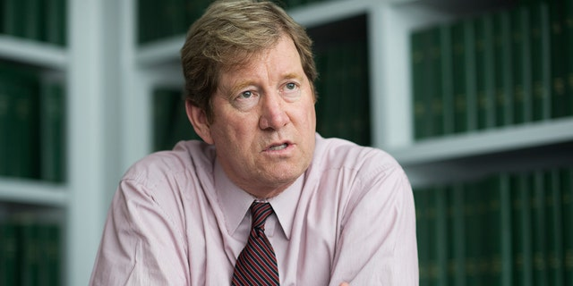 Jason Lewis, Republican candidate for Minnesota's 2nd Congressional District, is interviewed in CQ Roll Call offices, June 17, 2016. (Tom Williams/CQ Roll Call)