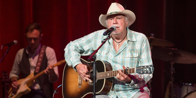 Jerry Jeff Walker performs at Ryman Auditorium on August 16, 2016 in Nashville, Tennessee.
