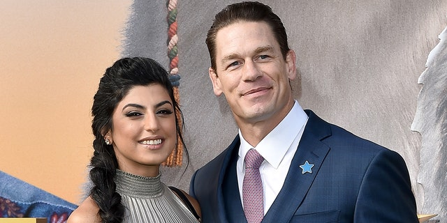 Shay Shariatzadeh (left) and John Cena were first romantically linked in March 2019. (Photo by Axelle/Bauer-Griffin/FilmMagic)