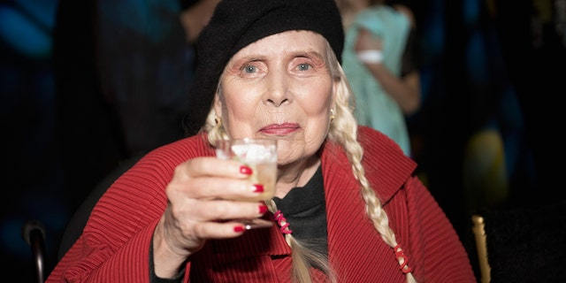 Joni Mitchell said she still struggles to walk five years after sustaining a brain aneurysm. (Photo by Arun Nevader/Getty Images for Art Hearts Fashion )