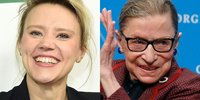 Kate McKinnon paid tribute to Ruth Bader Ginsburg during the 'Saturday Night Live' Season 46 premiere.
