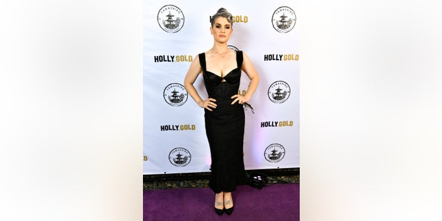 Kelly Osbourne showed off her 85-lb. weight loss at an event in Los Angeles.