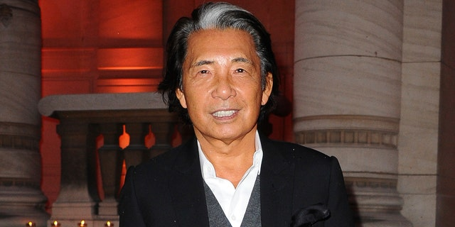 Kenzo Takada retired from his fashion house in 1999. (AP Photo/Zacharie Scheurer, file)