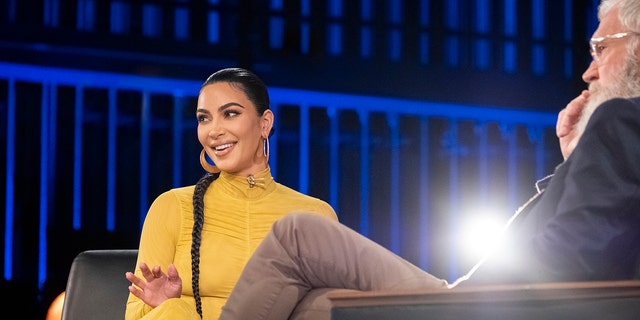 Kim Kardashian sat down for a long-form interview with David Letterman.