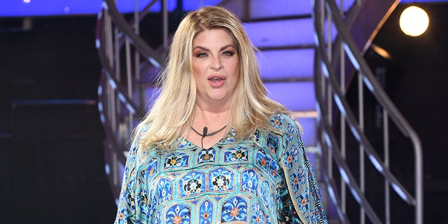 Kirstie Alley was criticized on social media for declaring her support for Donald Trump.