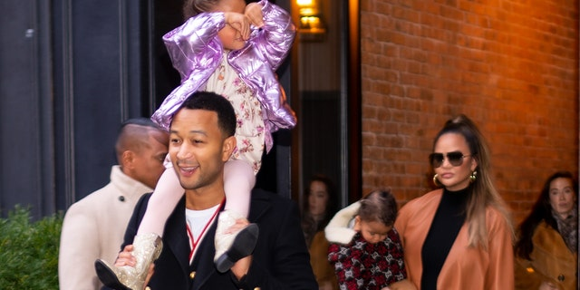 John Legend and Chrissy Teigen are parents to Luna, 4, and Miles, 2. (Photo by Gotham/GC Images)