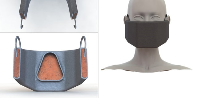 Prototype testing is underway for a reusable face mask that would blast virus particles with heat.